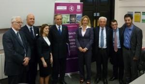 The Italian Ambassador visiting The University